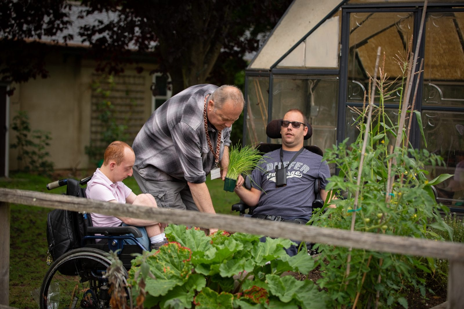 Gardening at Strode Park House