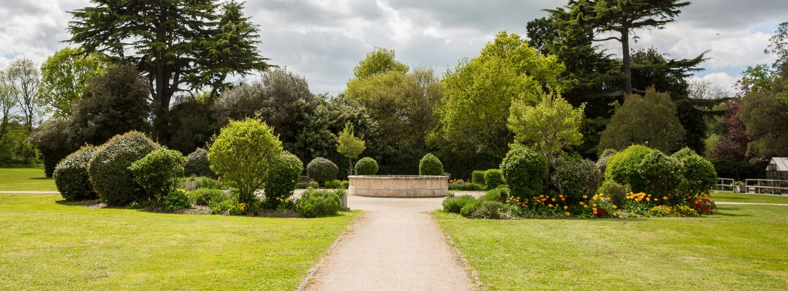 Gardens at Strode Park House