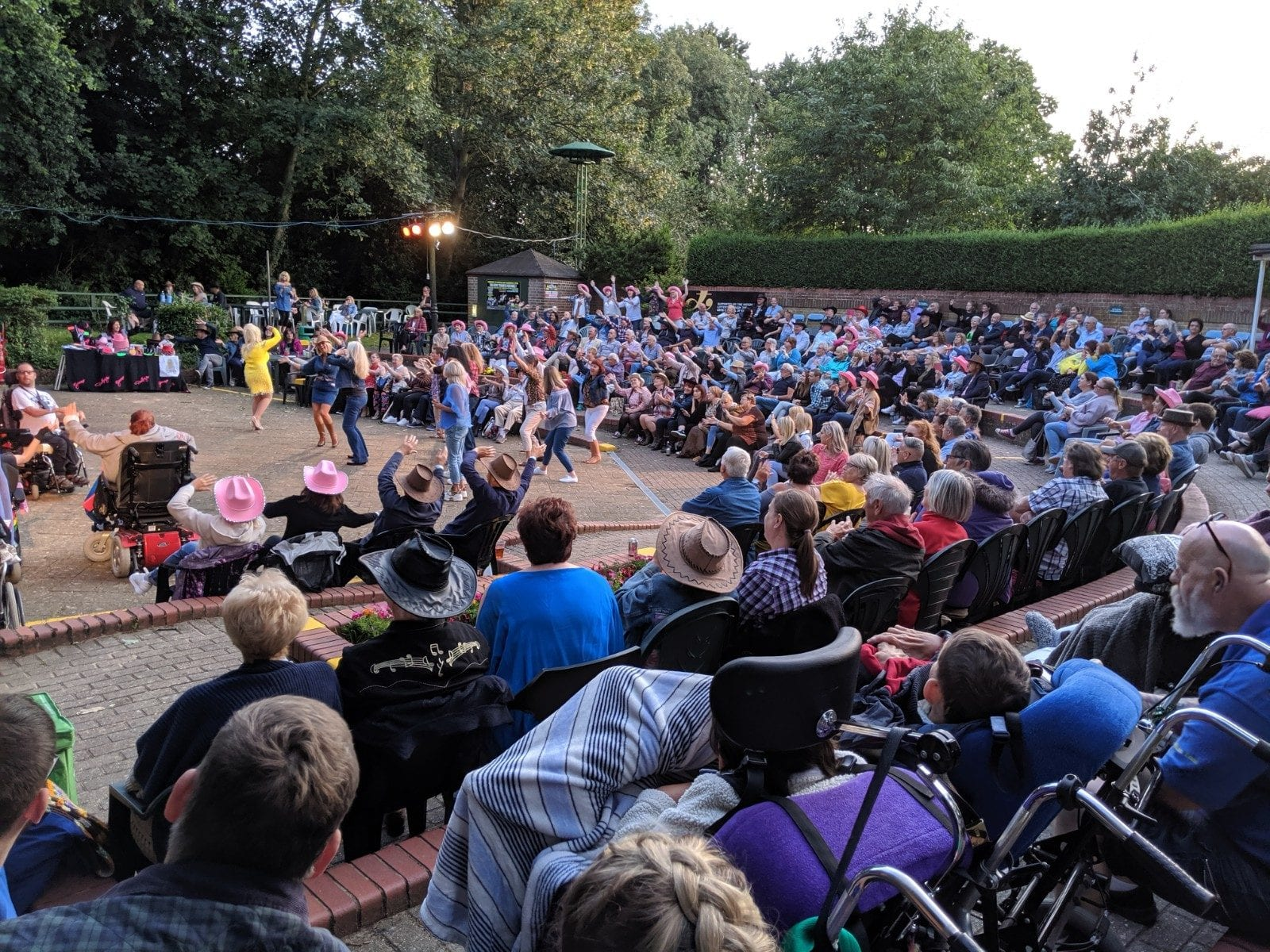 Theatre in the Park show