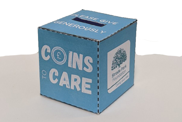 Coins to Care homepage image