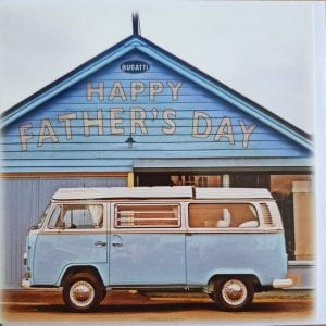 Campervan Father's Day Card
