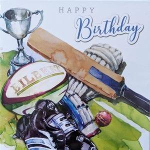 Sports birthday card