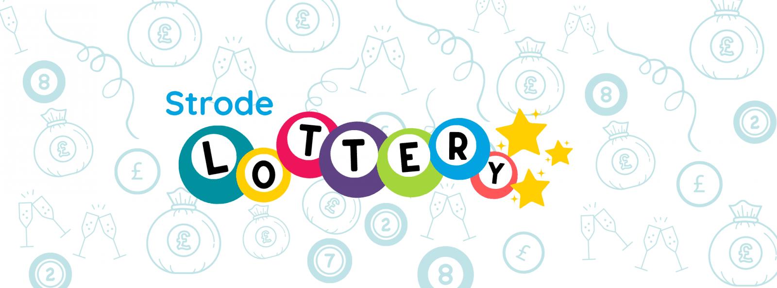 Strode Lottery banner