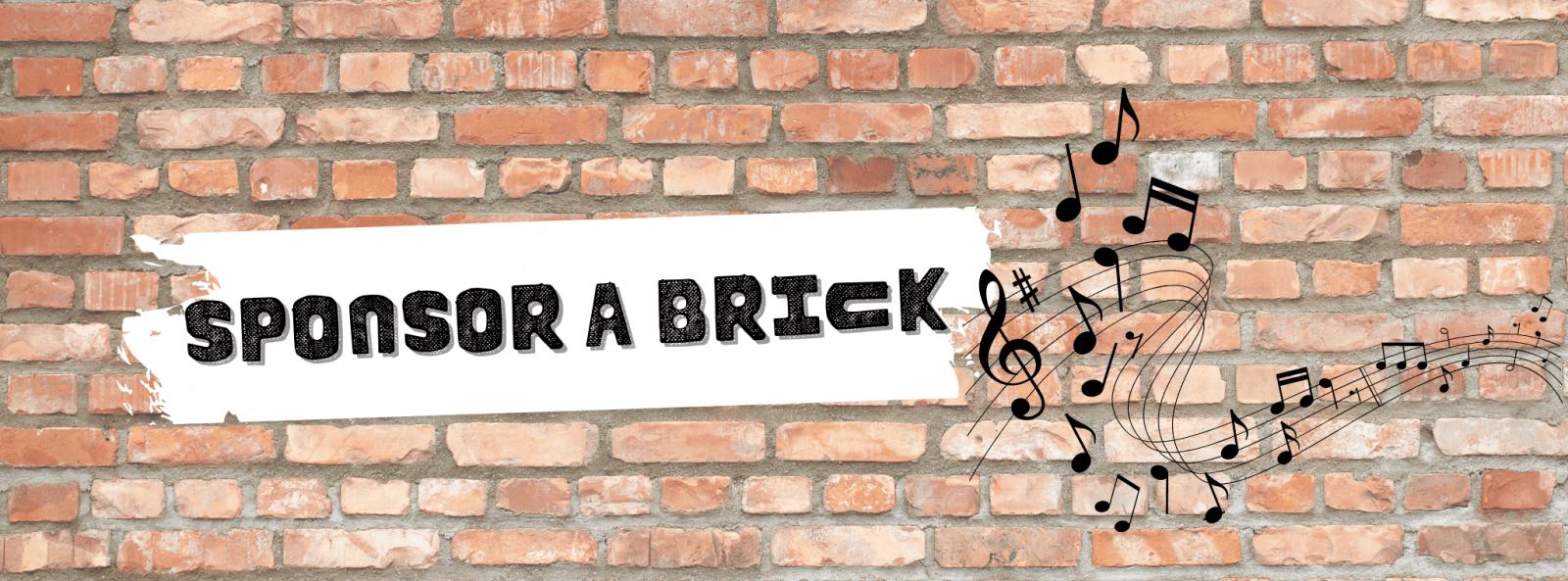 Sponsor a brick banner