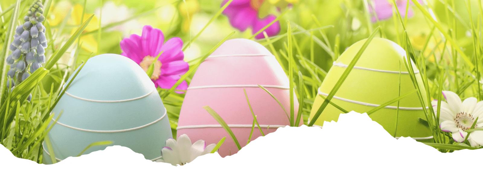 Easter Raffle banner