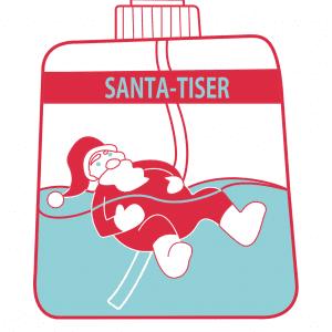 Santa-tiser