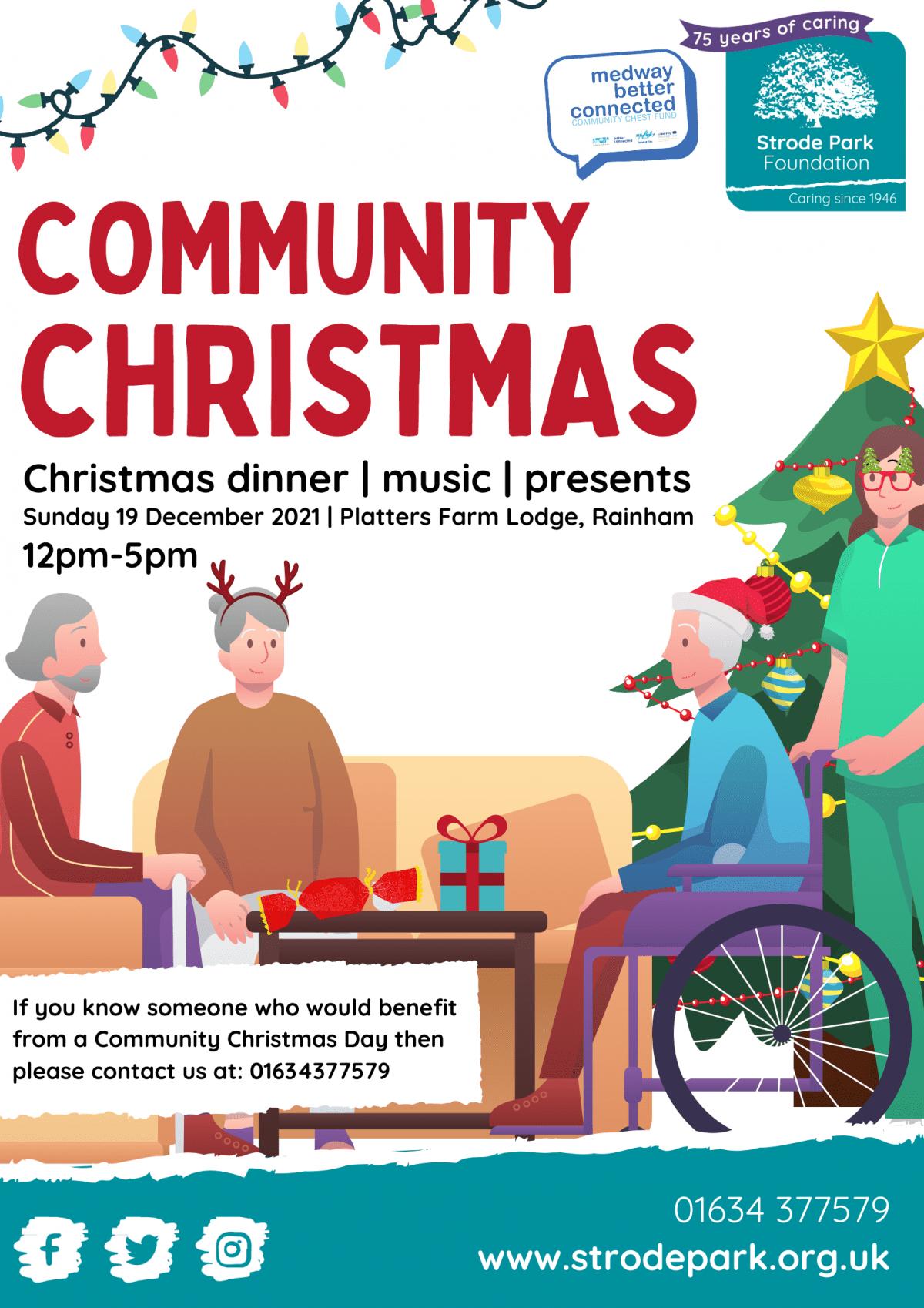 Community Christmas at Platters Farm Lodge